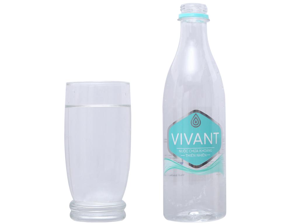 Thùng 24 chai nước khoáng Vivant 500ml 4