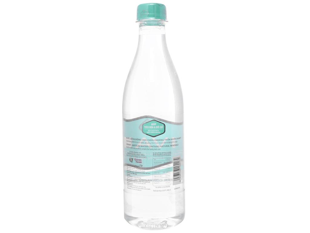 Thùng 24 chai nước khoáng Vivant 500ml 3