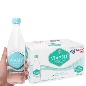 Thùng 24 chai nước khoáng Vivant 500ml