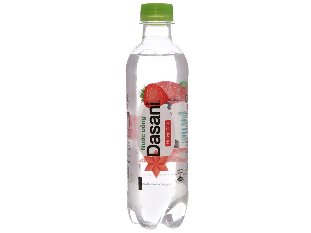 Thùng 24 chai nước uống Dasani hương dâu 390ml 2