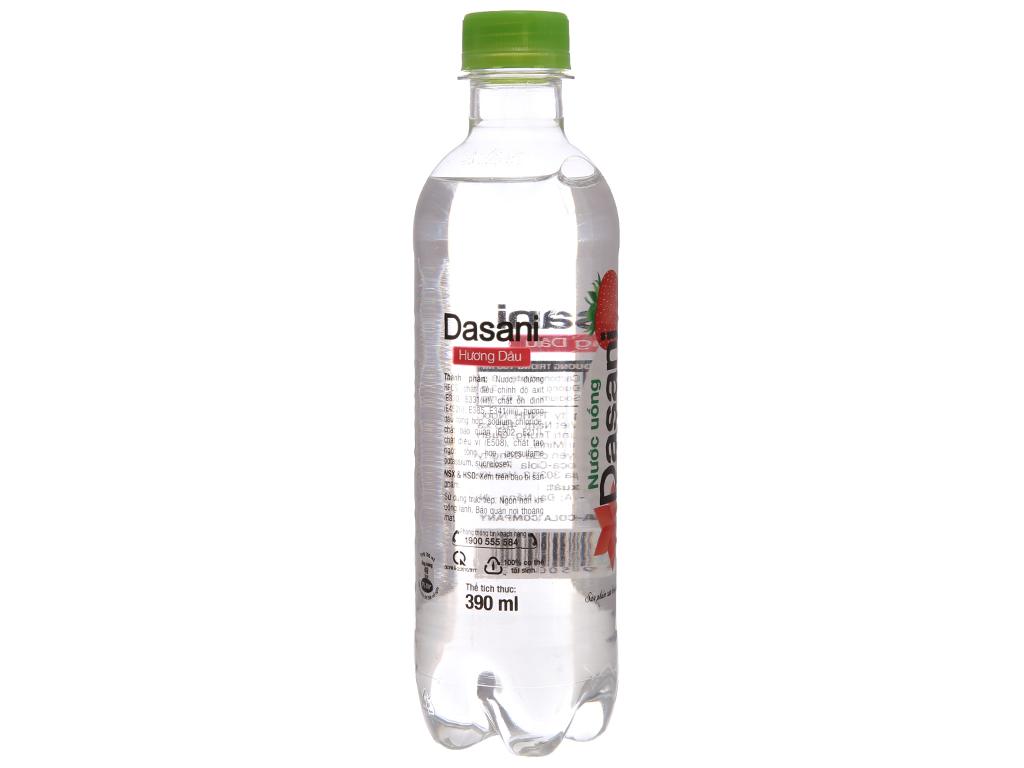 Thùng 24 chai nước uống Dasani hương dâu 390ml 3