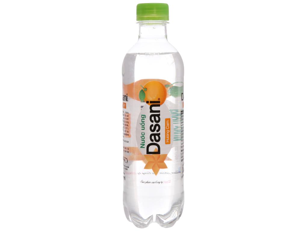 Thùng 24 chai Nước uống Dasani hương cam 390ml 2