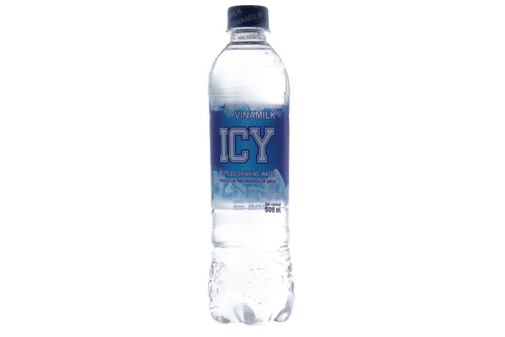 Thùng 24 chai nước tinh khiết Icy 500ml 2