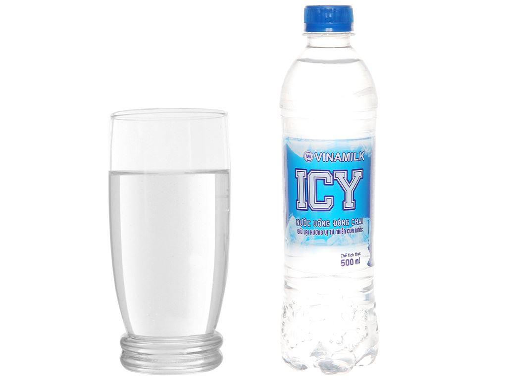 Thùng 24 chai nước tinh khiết ICY 500ml 6