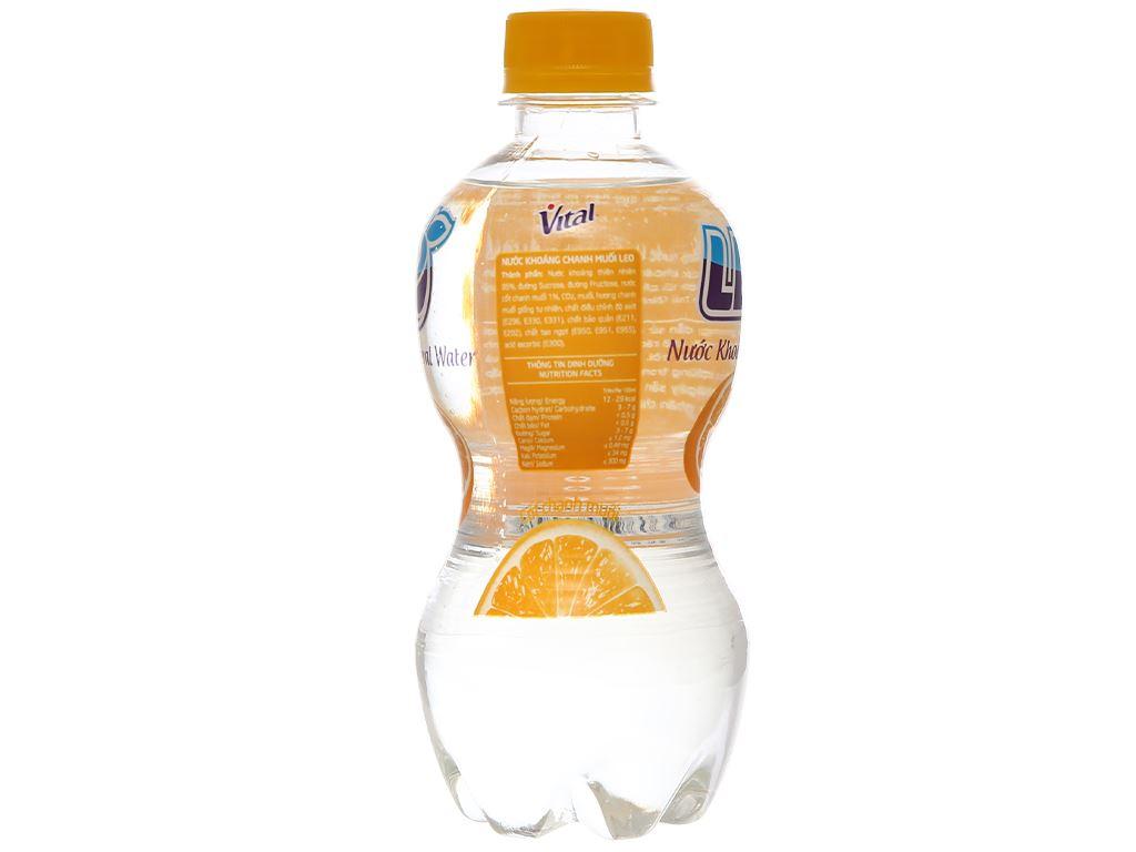 6 chai nước khoáng có ga Leo vị chanh muối 350ml 5