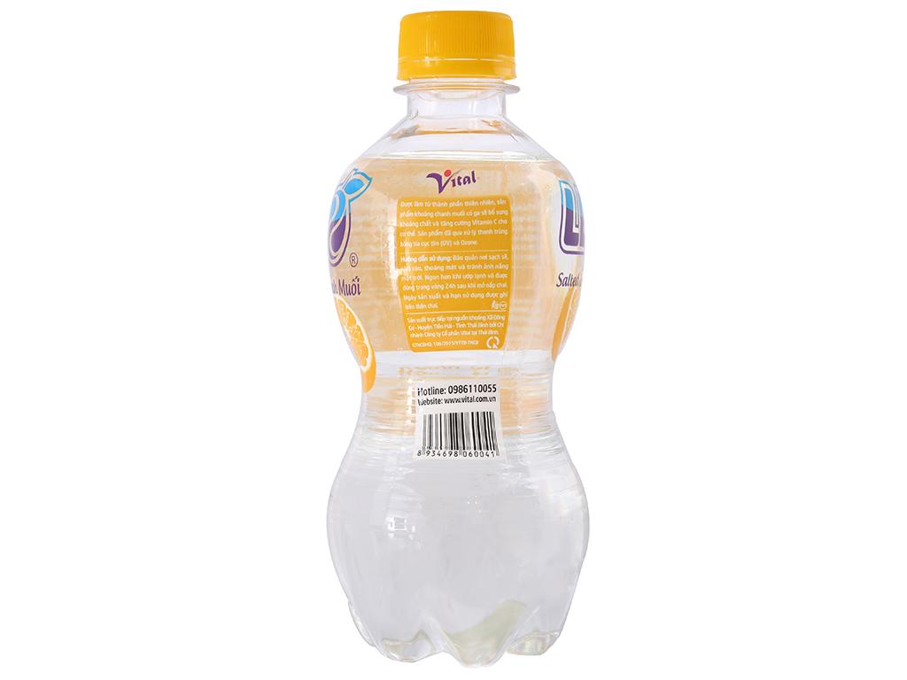6 chai nước khoáng có ga Leo vị chanh muối 350ml 3