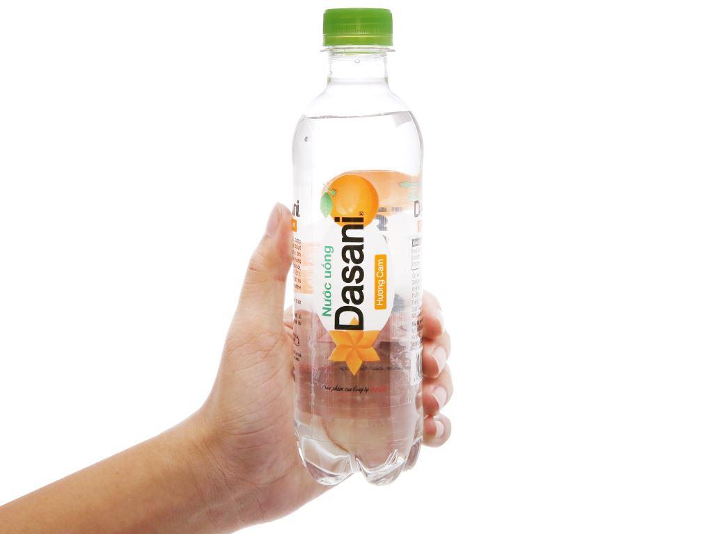 6 chai nước tinh khiết Dasani hương cam 390ml 4
