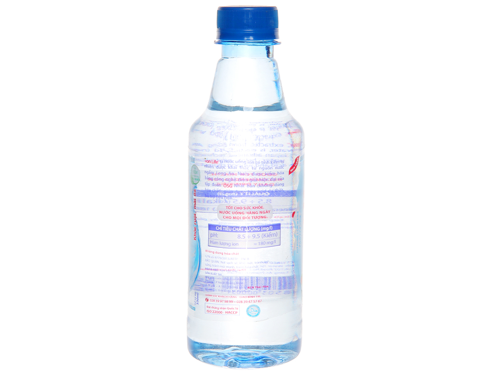Nước uống i-on kiềm Akaline I-on Life 330ml 2