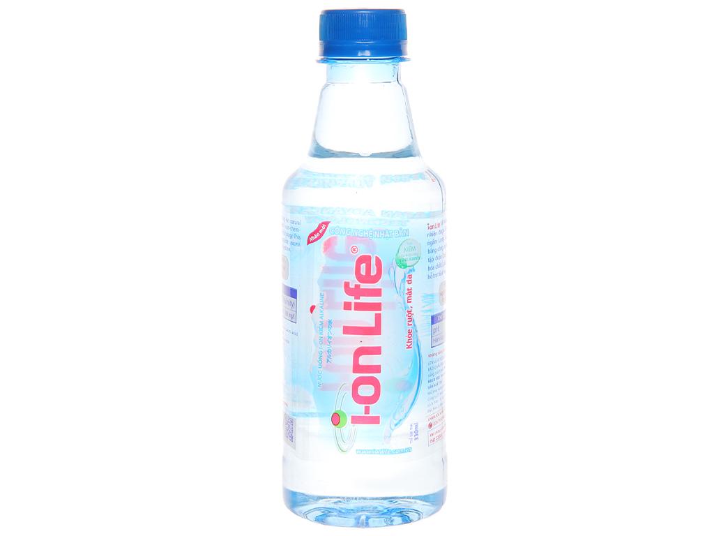 6 chai Nước uống i-on kiềm Akaline I-on Life 330ml 2