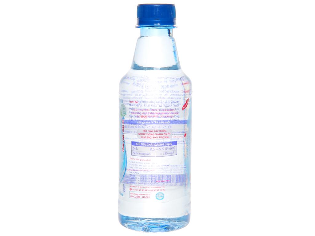 6 chai Nước uống i-on kiềm Akaline I-on Life 330ml 3