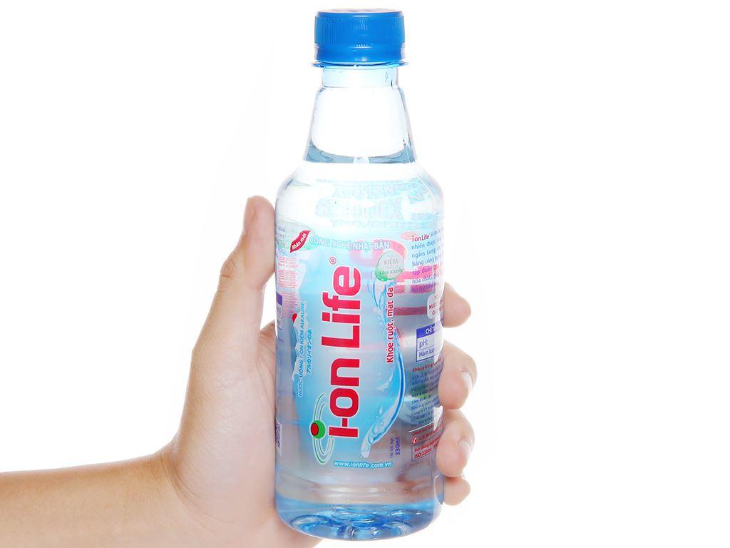 6 chai Nước uống i-on kiềm Akaline I-on Life 330ml 5