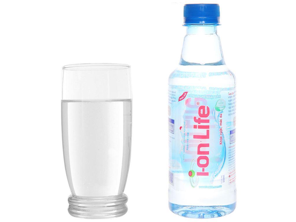 6 chai Nước uống i-on kiềm Akaline I-on Life 330ml 6