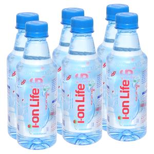 6 chai nước khoáng I-on Life 330ml