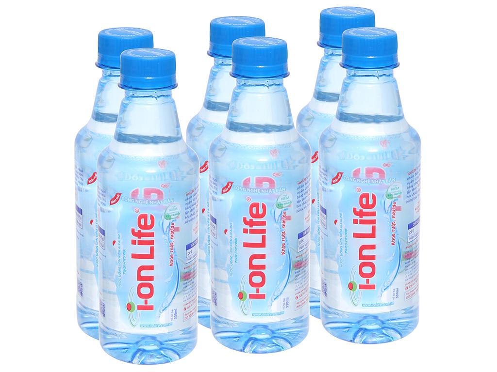 6 chai nước khoáng I-on Life 330ml 1