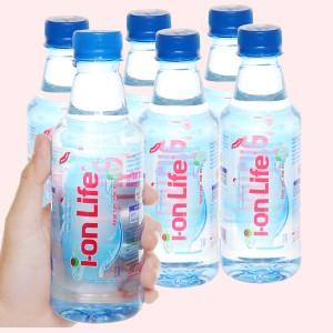 6 chai nước uống i-on kiềm Akaline I-on Life 330ml