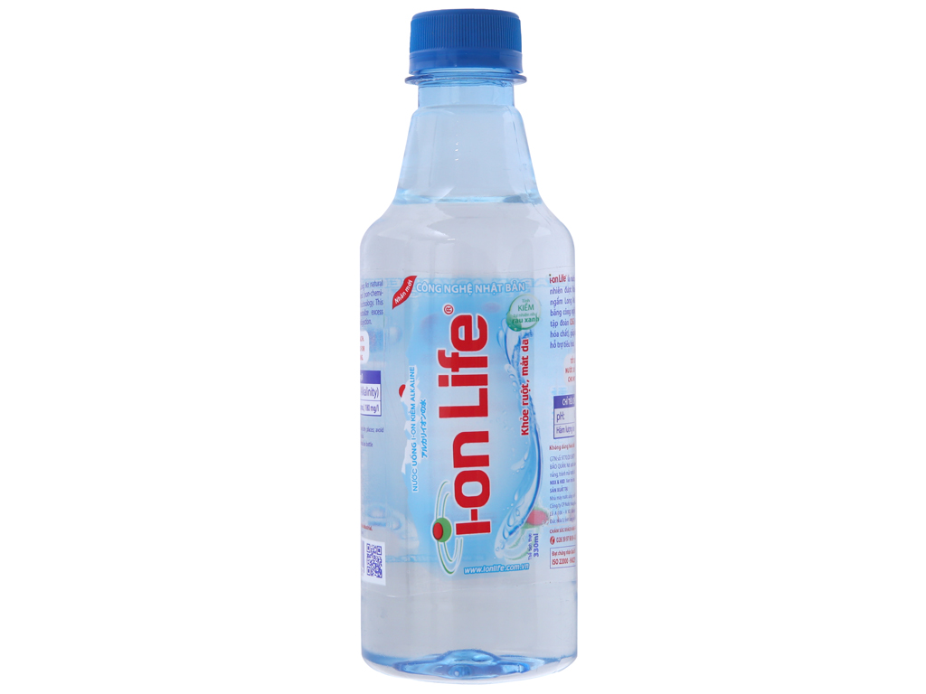 6 chai nước khoáng I-on Life 330ml 2