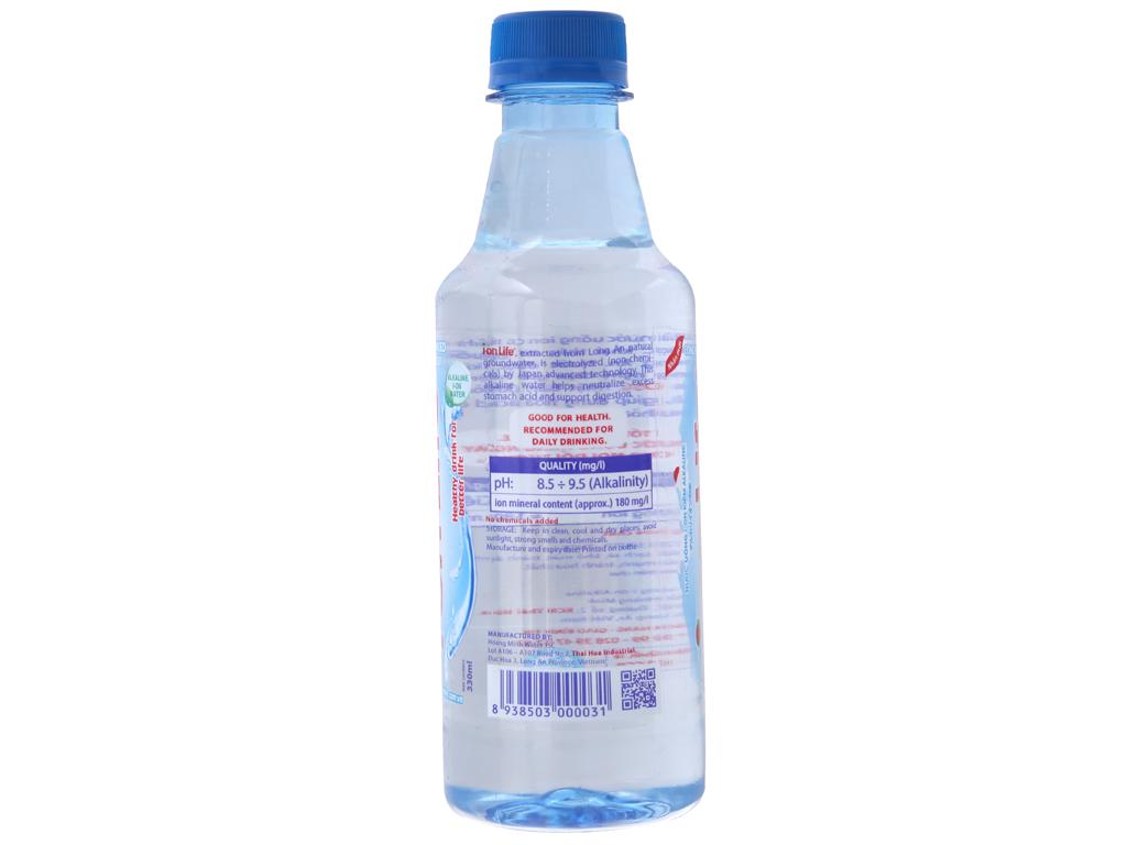 6 chai nước khoáng I-on Life 330ml 3
