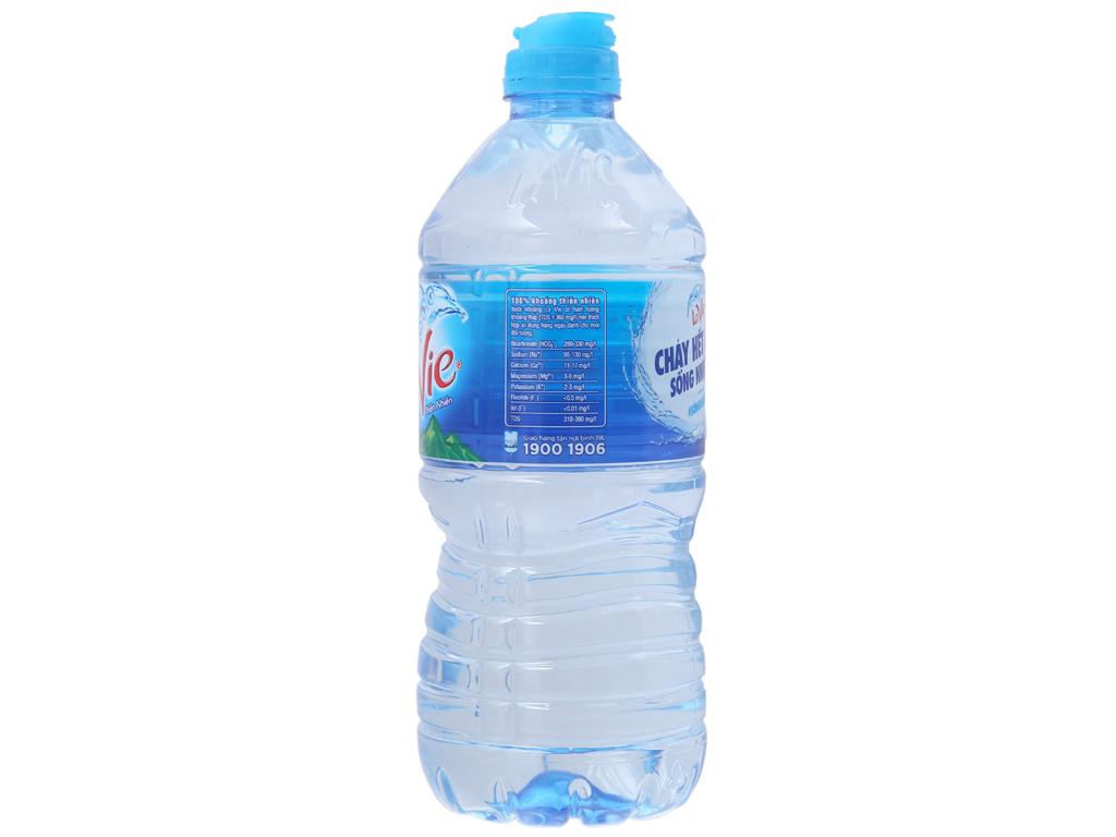 Thùng 12 chai nước khoáng La Vie 750ml 3