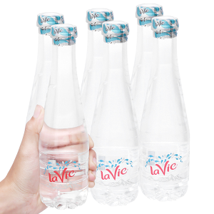 6 chai nước khoáng La Vie Premium 400ml