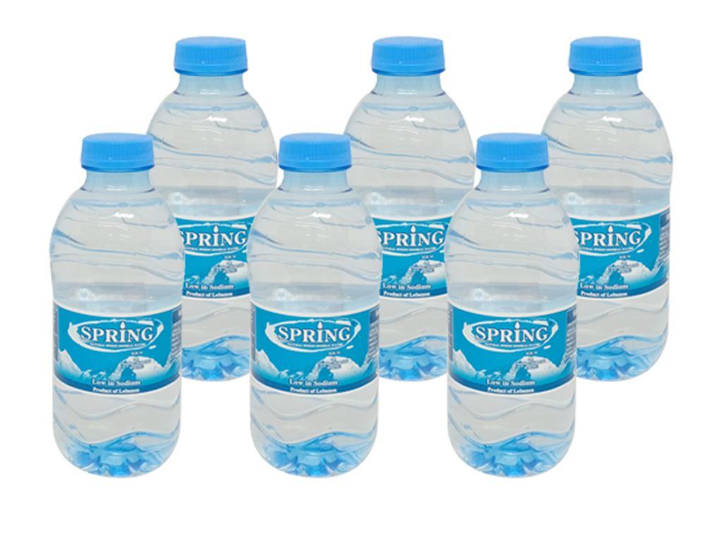 6 chai nước khoáng Spring 330ml 1