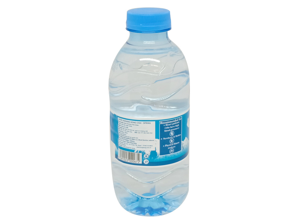 6 chai nước khoáng Spring 330ml 3