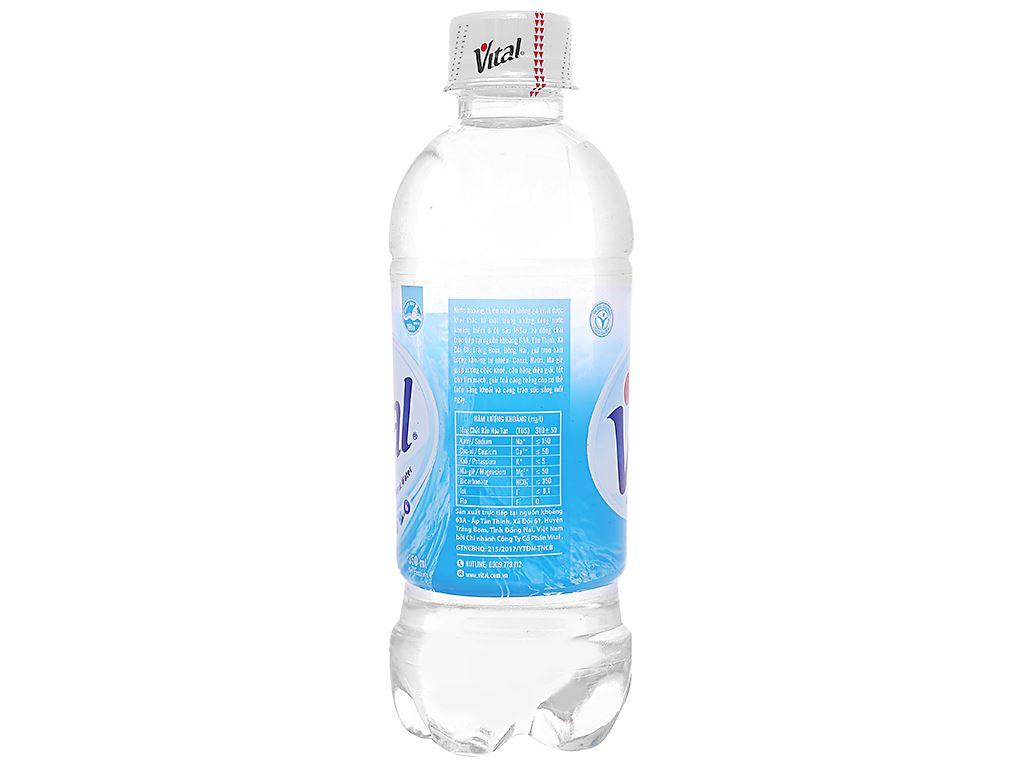 6 chai nước khoáng Vital 350ml 3