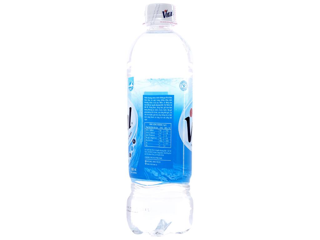 6 chai Nước khoáng Vital 500ml 3