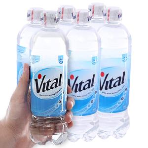 6 chai nước khoáng Vital 500ml