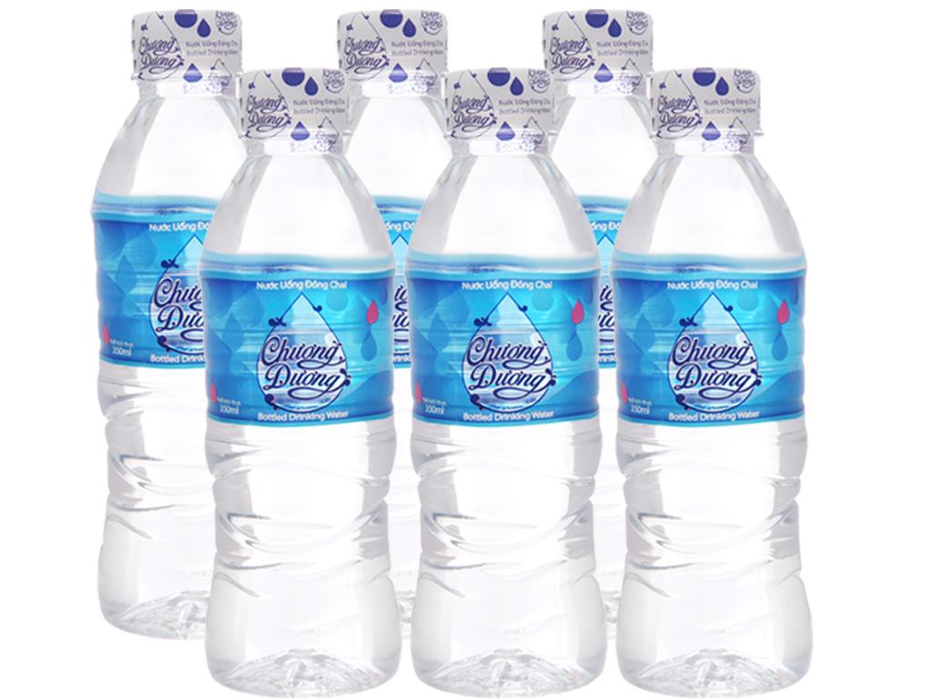 6 chai nước khoáng Chương dương 350ml 1
