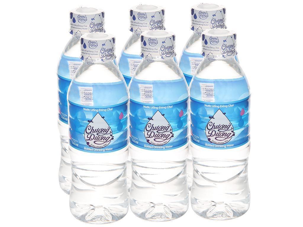 6 chai nước uống Chương Dương 350ml 1
