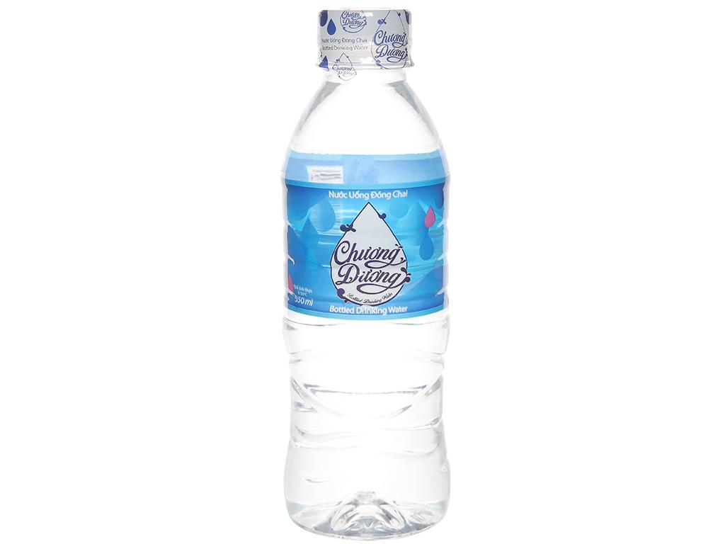 6 chai nước uống Chương Dương 350ml 2
