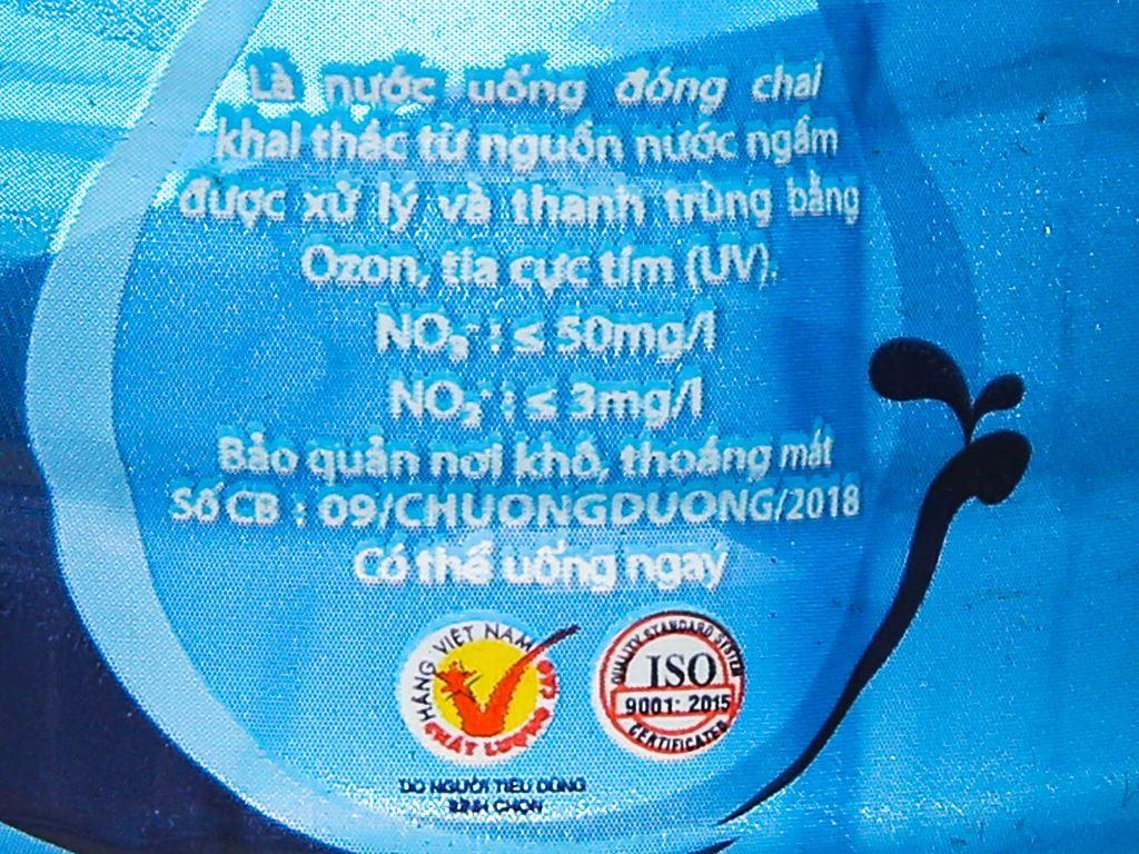 6 chai nước uống Chương Dương 350ml 4