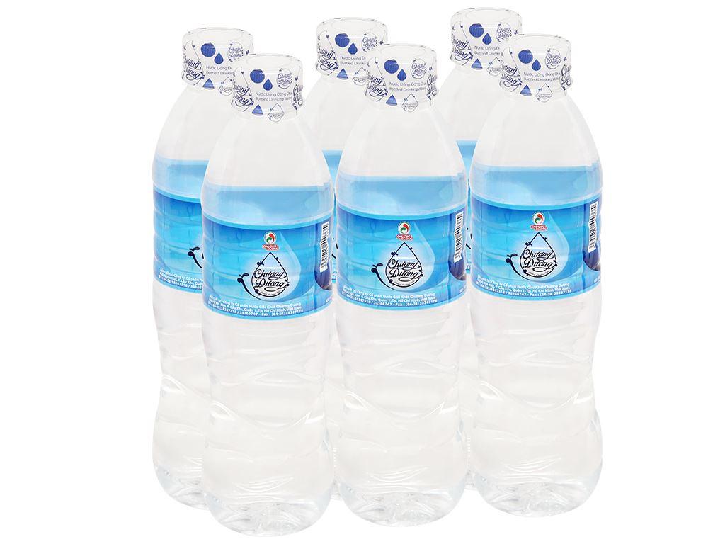 6 chai nước uống Chương Dương 500ml 1