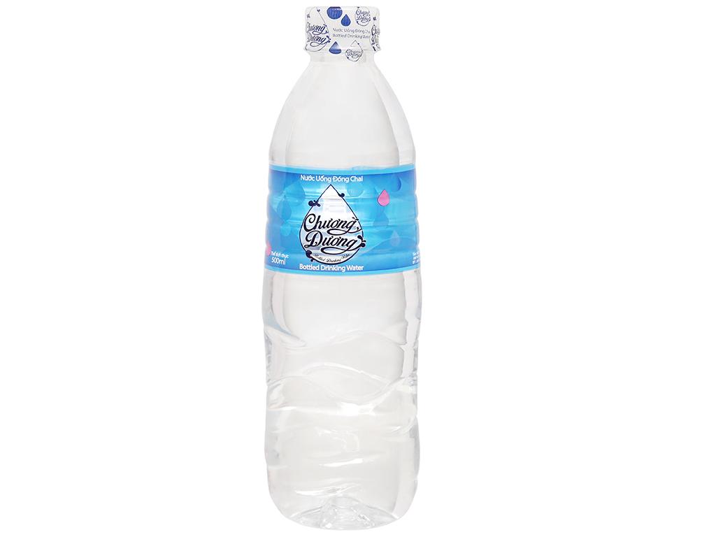 6 chai nước uống Chương Dương 500ml 2
