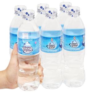 6 chai nước khoáng Chương dương 500ml