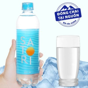 Nước tinh khiết Satori 500ml