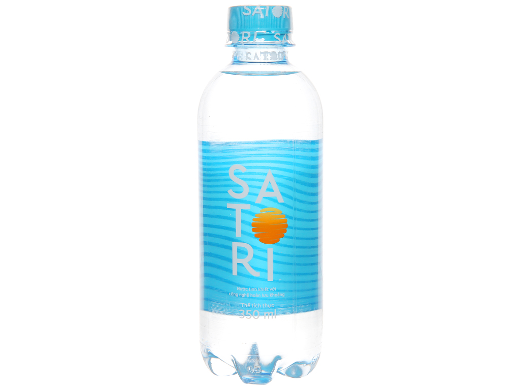6 chai nước tinh khiết Satori 350ml 2