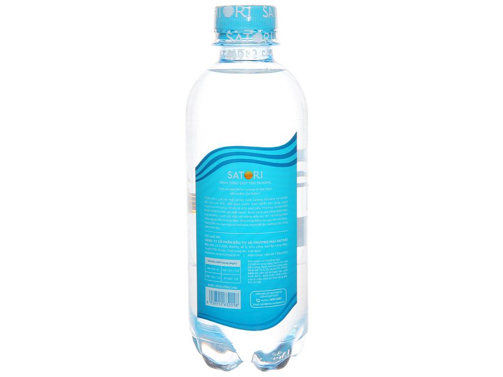 6 chai nước tinh khiết Satori 350ml 3