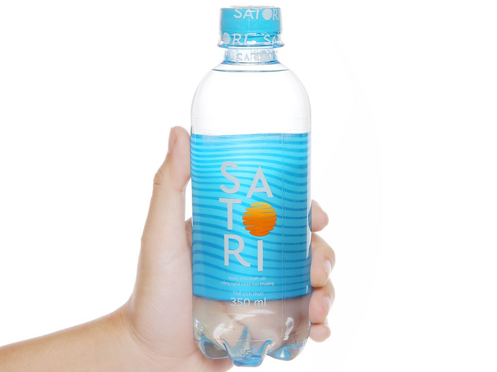6 chai nước tinh khiết Satori 350ml 5
