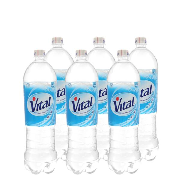 6 chai nước khoáng Vital 1.5 lít 2