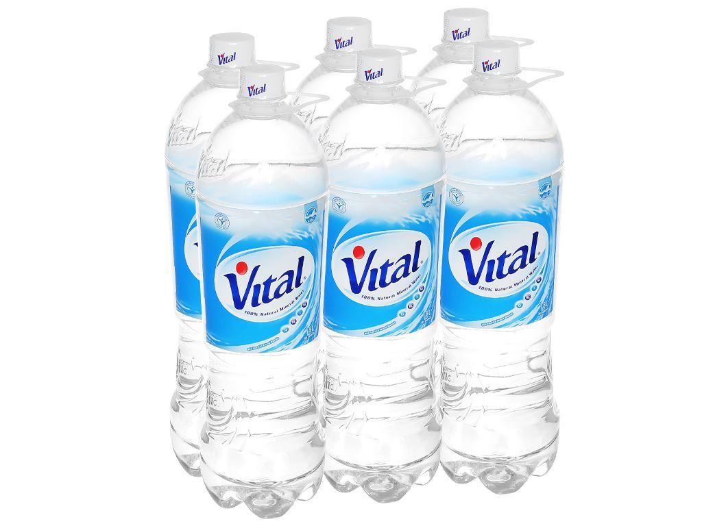 6 chai nước khoáng Vital 1.5 lít 1