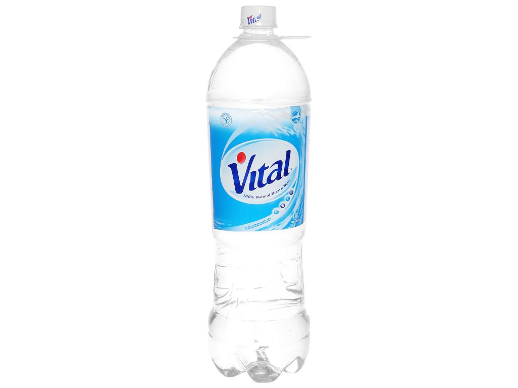 6 chai nước khoáng Vital 1.5 lít 6