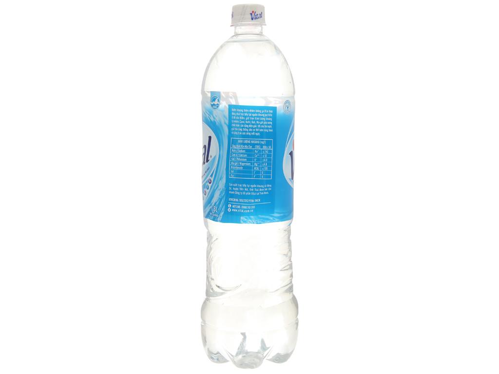 6 chai nước khoáng Vital 1.5 lít 3
