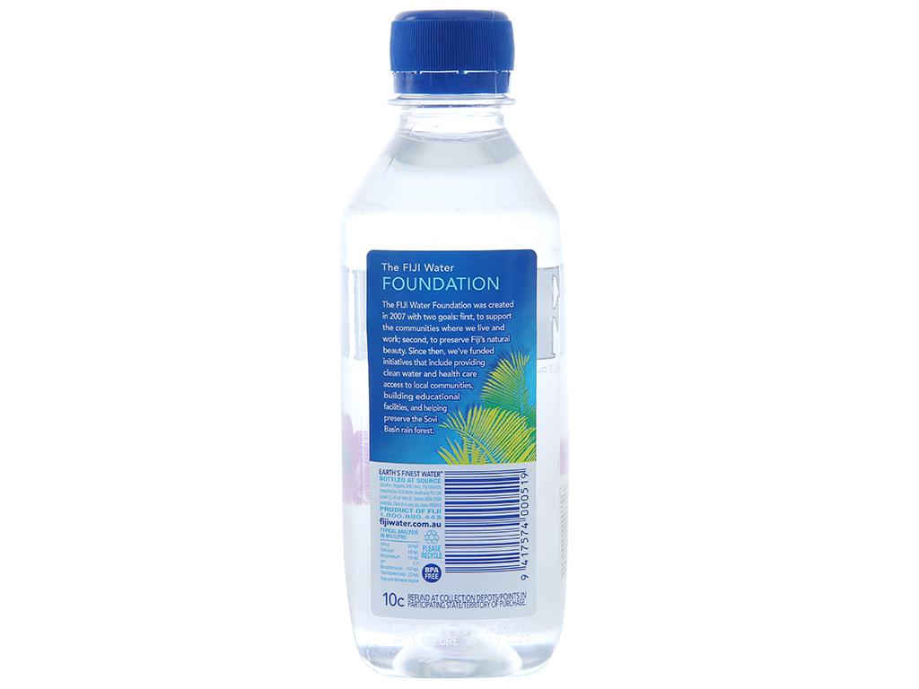 6 chai nước khoáng Fiji 330ml 3