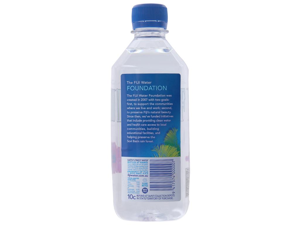 6 chai nước khoáng Fiji 500ml 3