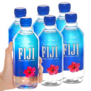 6 chai nước khoáng Fiji 500ml