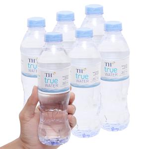 6 chai nước tinh khiết TH True Water 350ml