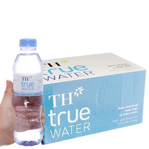 Thùng 24 chai nước tinh khiết TH True Water 350ml