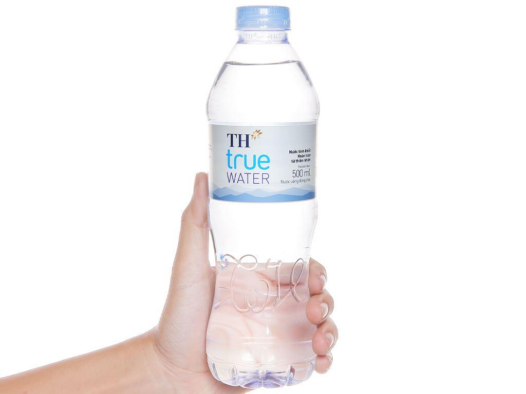 6 chai nước tinh khiết TH True Water 500ml 5