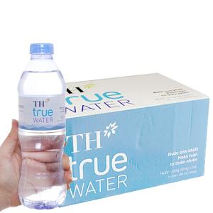 Thùng 24 chai nước tinh khiết TH True Water 500ml